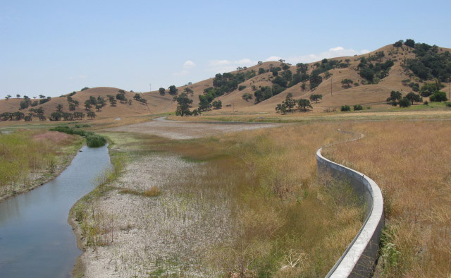Flood control improvements at Coyote Creek